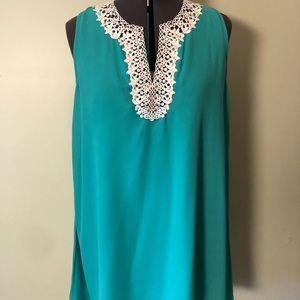Turquoise tunic/dress